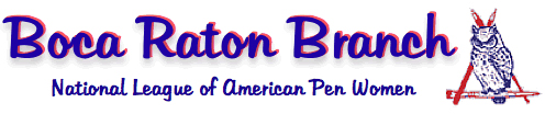 Boca Raton Branch National League of American Pen Woman