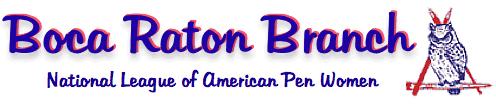 Boca Raton Branch National League of American Pen Woman